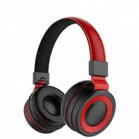 China Hi-Fi Stereo Bluetooth Phone Headset Foldable Headband Headphone With Cushion on sale