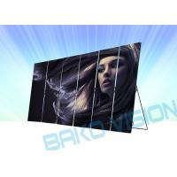 Cheap 2880Hz Mobile LED Screen Display Slim Movable Billboard For Store Advertising for sale