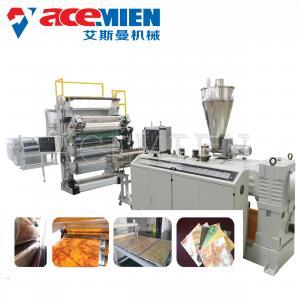 China PVC Marble Making Machine , Artificial Stone Making Machine Profile Sheet on sale