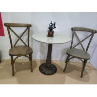 Cheap Rustic Bar Table legs  Cast Iron Antique Table base Commercial Furniture Parts for sale