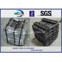 Quality 4 Hole Q235B Railroad Joint Bar Railway Fish Plate For GB 30kg Rail wholesale