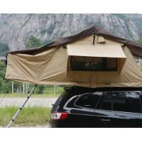 Cheap Portability 2-3 Person Large Turnover Roof Top Tent Soft Shell For 4x4 Accessories for sale