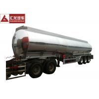 Cheap ADR Standard Fuel Tank Trailer Polished 4 Seamless Steel Tube Air Bag Suspension for sale