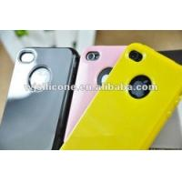 Cheap durable protector case for iphone 4 silicon case for sale