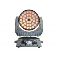 Buy cheap 36*10W RGBW 4 In 1 LED Wash Moving Head Zoom Light With Electronic Focusing from wholesalers