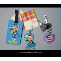 Cheap hot selling promotion gifts cartoon luggage tag, soft pvc luggage tag, id card luggage tag for sale