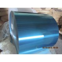 Cheap Colorful Hydrophilic Aluminium Foil 0.105MM Various Width For Fin Stock for sale