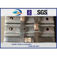 High Quality Railway Fish Plate For BS100A Rail British Standard BS47-1 Joint Bar 50# 4 Holes