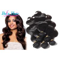 "Cheap 8"" 10"" 12"" Virgin Peruvian Hair Extensions Body Wave For Black Women for sale"