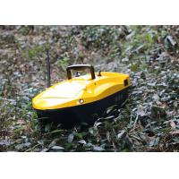 Cheap Yellow bait boat gps DEVC-113 Model 6V / 10AH Power Supply 1-2 M/S Sailing Speed for sale