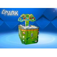 Cheap Double Players Hitting Frog Arcade Coin Machine / Redemption Game Machine for sale