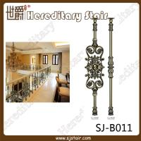 Cheap Indoor Antique Brass Casting Balustrade for Handrail (SJ-B011) for sale