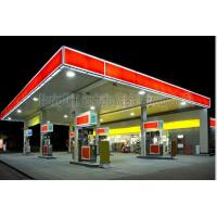 Cheap Space Frame Steel Structure Fast Building Gas Petrol Station Construction wholesale