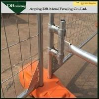 Rodent Proof Temporary Construction Fence / Protable Temporary Safety Fence