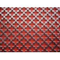 China High Tensile Perforated Metal Mesh , 1.14mm Min Hole Dia Decorative Metal Sheets Lowes on sale