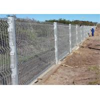 Buy cheap High Security Clearvu Mesh Fence Panels / 358 Anti Climb Fence / Prison Fence from wholesalers