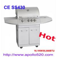 China Stainless Steel Gas BBQ Freestanding Grills on sale