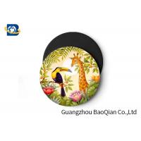 Cheap Wild Animal Art Image Lenticular Coasters 3D Decoative Cup Placemat 0.6MM PET for sale