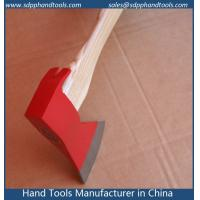 China Claw axes head with ash wood handle, carpenter's axes hatchet with ash handle, carpentry axe on sale