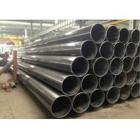 Cheap Black Painting Welded Steel Pipe For Petroleum , Natural Gas Transportation Oil Line Pipe for sale