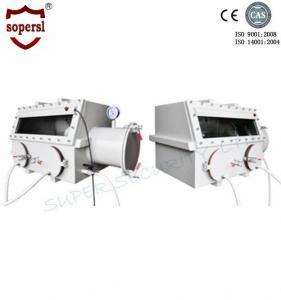 Quality Stainless Steel Laboratory Glove Box / Anaerobic Glove Box Medical Equipment wholesale