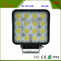 Cheap 48W Square LED Fog Light, LED Work Light, LED Work Lamp for marine ships, Automotive for sale