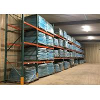 China Heavy Duty Wire Pallet Rack Cold Rolled Steel Q235B Material Custom Dimension on sale