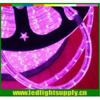 Cheap ultra thin christmas decoration 2 wire pink 24v 12v led rope light for sale