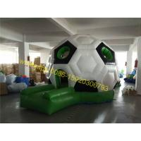 Cheap soccer dome bouncy castle house for sale