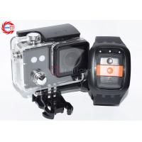 Cheap Diving Sport DV Black FHD 1080p Action Camera With 30m Waterproof Case wholesale