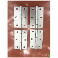 Buy cheap Unpolished Entry Door Hinges Brass Plated Nickel Plated Light Weight from wholesalers