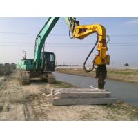 Buy cheap Excavator Mounted Mini Integrated Vibratory Pile Hammer Construction Equipment Pile Driver from wholesalers