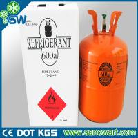 Cheap Car cooling system r600a refrigerant gas for sale for sale