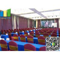 "Cheap Sound Proof 2 9/16"" Operable Folding Partition Walls For Meeting Room wholesale"