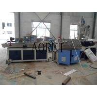 Cheap PP PE PVC Corrugated Pipe Machine Plastic Extrusion Line for Electrical Wire for sale
