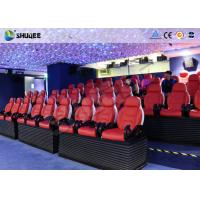 Cheap Deft Novel Motion 5D Theater Equipment With 12 Special Effects CE ISO9001 for sale