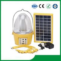 China Solar camping lantern with 3.5W solar panel for cheap sale on sale