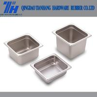Cheap China Stainless Steel Gastronorm container food GN Pan and Lids for sale