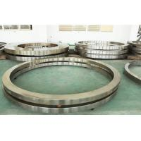 Buy cheap 42CrMo4\EN19 Silver Carbon Steel Helical Ring Gear For Forklift Wheel Rim from wholesalers