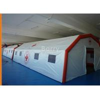 Cheap Attractive Reusable Giant Air-Saeled Inflatable Tent For Emergency for sale