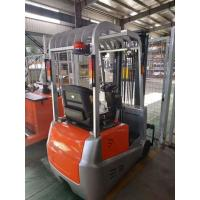 Cheap 24V Battery Operated Electric Forklift Truck 3 Wheel Automatic Transmission for sale