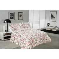 Cheap Chrysanthemum Pattern Colourful Quilt Covers , Home King Queen Size Bed Quilt Covers for sale