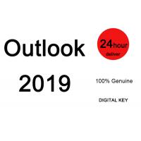 China Genuine Microsoft Office Outlook License Key 2019 Full Version Outlook Software on sale