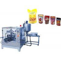 China Food Grade SS304 Premade Bag Packing Machine , Stand Up Bag Premade Pouch Filling Machine on sale