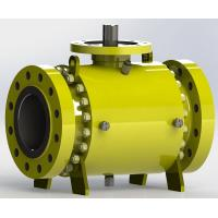 Buy cheap Trunnion Bolted Pipeline Ball Valve from wholesalers