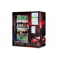 Cheap Brandy Champagne Beer Auto Vending Machine With Elevator And Real Time Monitoring System for sale