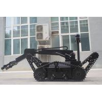 Buy cheap 220kg Counter Terrorism Equipment EOD Robot Crawler Swing Arm 100m Wire Control from wholesalers