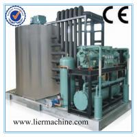 Cheap Supermarkets Flaker Ice Machine , Air Cooled Seafood Preservation for sale