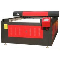 Cheap 3D Color Laser Printer Leather Cutting Machine For Shoe Upper / Clothing Fabric for sale