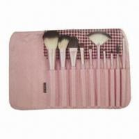 Cheap Makeup Brush Set with Wooden Handle for sale